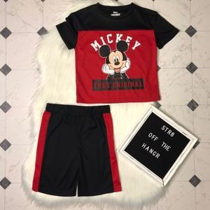 NWT Disney Junior Mickey Mouse matching set sz 5T